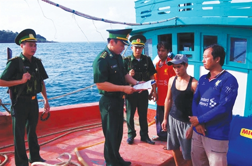 Security border-guard procedures at ports tightened