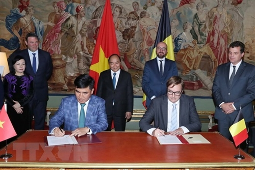 Vietnam Belgium promote cooperation in multiple fields