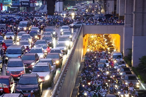 Draft proposes solutions to traffic congestion