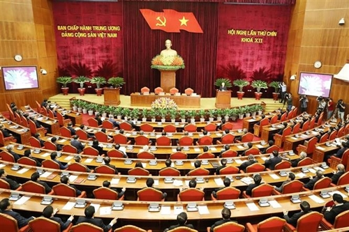 Party Central Committees 9th plenary session closes