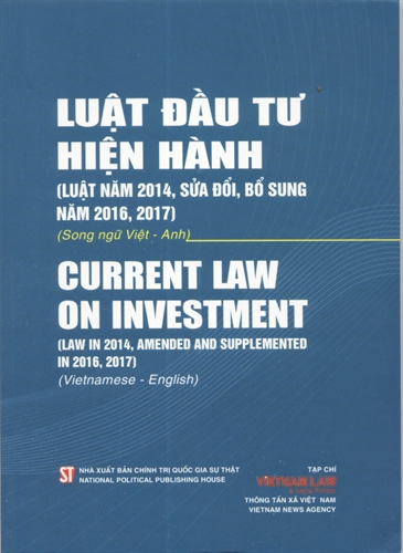 Luật đầu tư – Law on Investment (Law in 2014 Amended and Supplemented in 2016 2017)