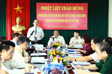 Vietnam Bar Federation poised to develop the pool of lawyers