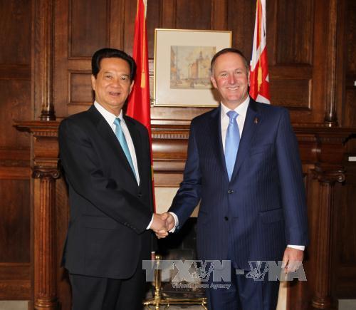 Vietnam New Zealand look toward strategic partnership