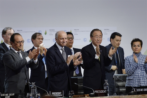 Conference adopts Paris Agreement on climate change response
