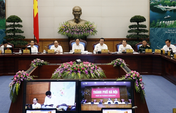 New points of the 2015 Law on Organization of the Government