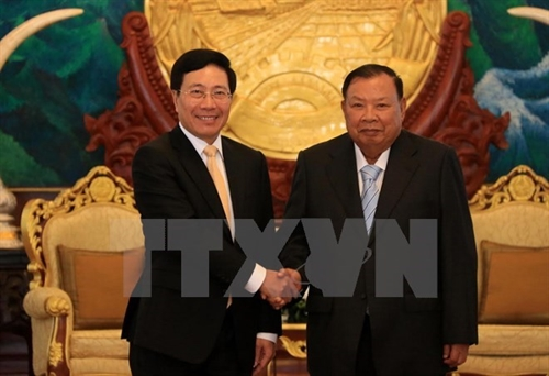 Vietnams Foreign Ministry to keep close ties with Lao counterpart