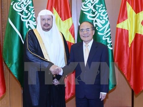 Vietnam Saudi Arabia to boost parliamentary ties