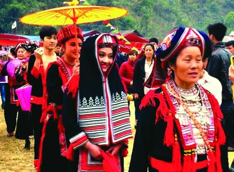 Village festival features Dao cultural values