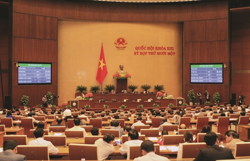 Party sets key tasks for improving the legal system up to 2020