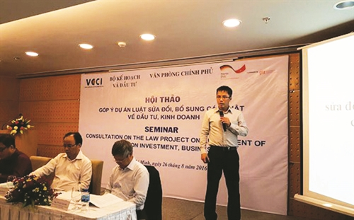 Proposed changes to investment law mostly concern foreign investors