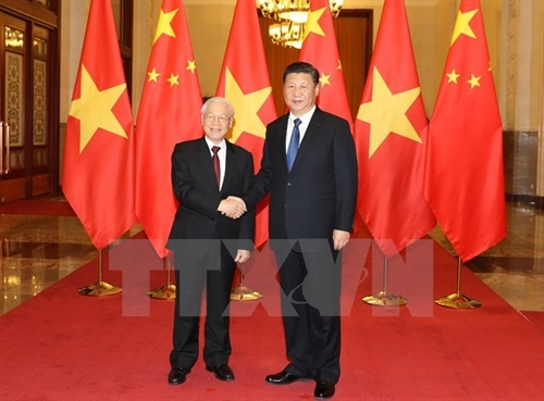 Vietnam China seek to boost multifaceted cooperation