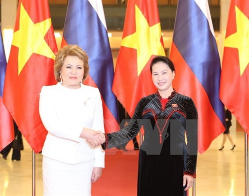 Russia pays attention to ties with Vietnamese legislature