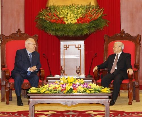 Vietnam treasures multifaceted ties with Israel: Party leader