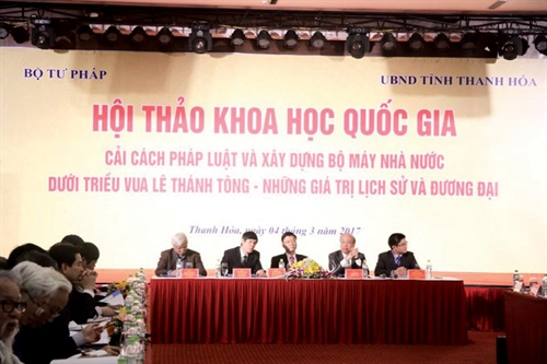 Anti-corruption lessons learnt from King Le Thanh Tong