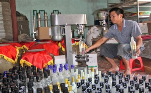 Liquor production and trading placed under strict control