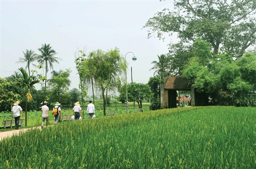 Traditional villages of Viet peasants