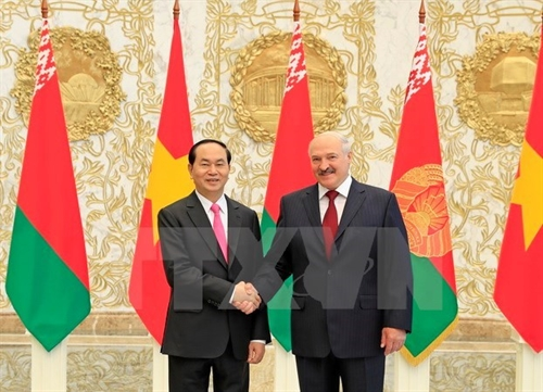 Vietnam Belarus to heighten bilateral relations