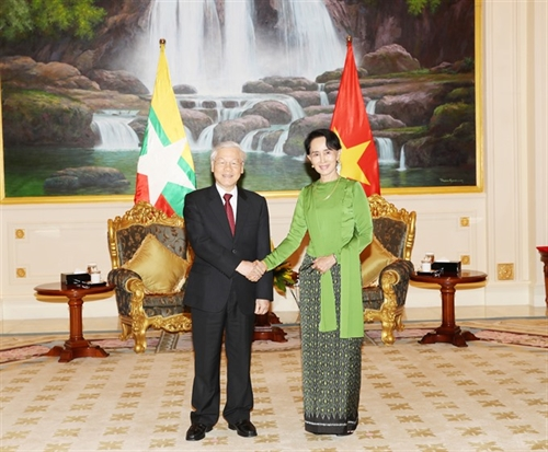 Leaders agree to intensify Vietnam-Myanmar cooperation