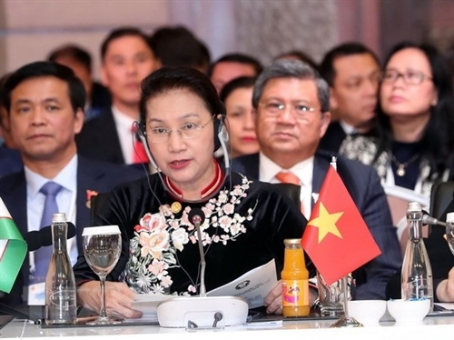 NA Chairwoman attends Eurasian parliamentarians meeting
