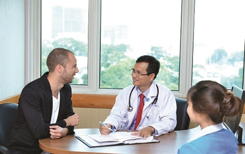 Where can foreigners get health check-ups in Vietnam?