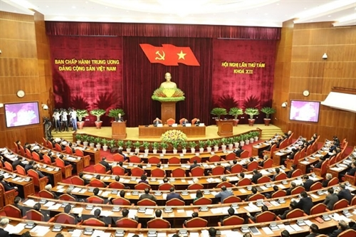 Party Central Committees 8th meeting opens