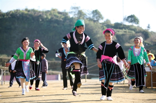 Famous Gau Tao festival of the HMong