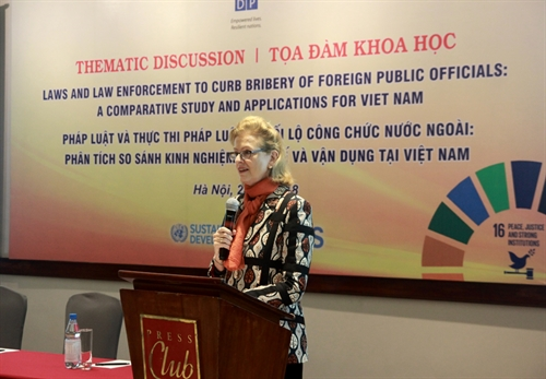 Laws and law enforcement on bribery of foreign public officials: international practices and applications for Vietnam