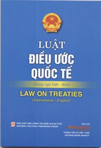 Luật điều ước quốc tế - LAW ON TREATIES
