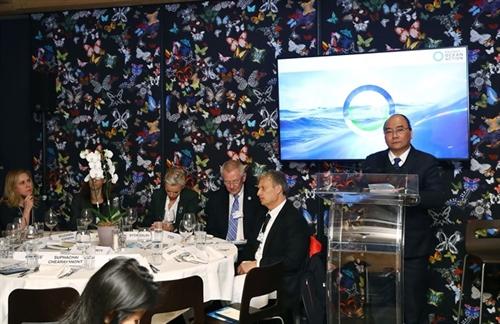 PM proposes ocean data sharing at World Economic Forum 2019