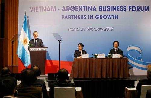 Vietnam Argentina seek ways to cement economic partnerships