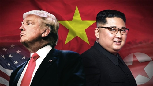 DPRK US leaders arrive in Hanoi
