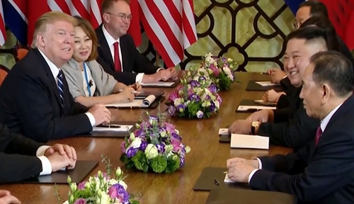 President Trump Chairman Kim end summit with no agreement