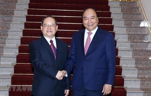 Prime Minister meets party chief of Guangxis Zhuang autonomous region