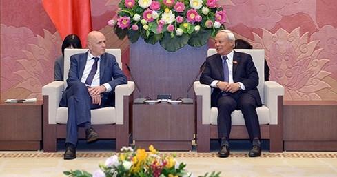 Vietnam Belgium boost parliamentary cooperation