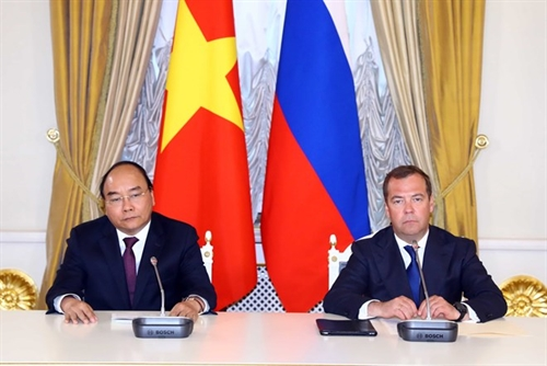 Vietnam Russia to further diversify cooperative ties: PMs