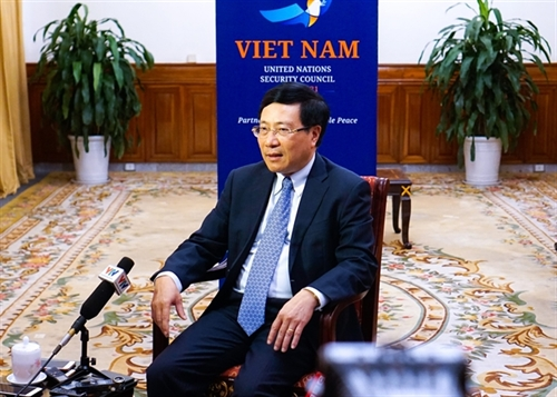Vietnam pursues multilateralism and consensus as member of UN Security Council: Foreign minister