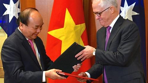 Vietnam Australia to strengthen strategic partnership