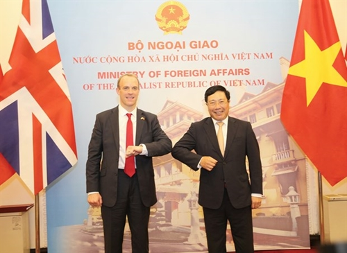 Vietnam UK to develop strategic partnership to higher level: officials