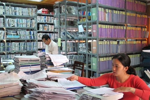 Glossary of clerical work terms
