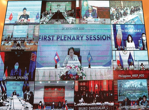 Meeting of ASEAN parliament leaders adopts important documents