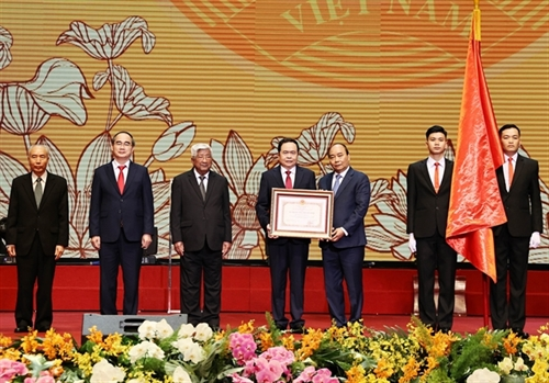 Vietnam Fatherland Front urged to uphold its role in 90th founding anniversary