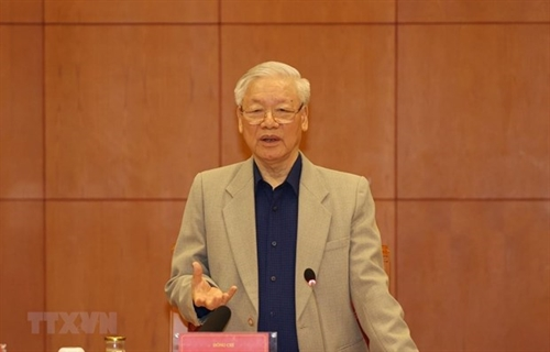 Honor sacred for officials: Top leader addresses anti-corruption meeting