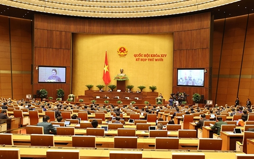 Legislatures year-end meeting to pass seven laws three resolutions