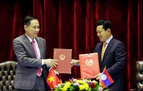 Vietnam-Laos annual meeting reviews border management