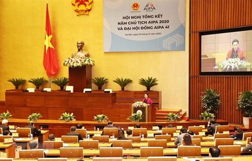 Vietnam fulfills role as AIPA Chair: top legislator