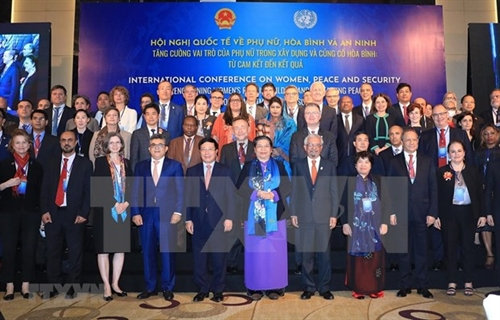 Intl conference strengthens womens role in building sustaining peace