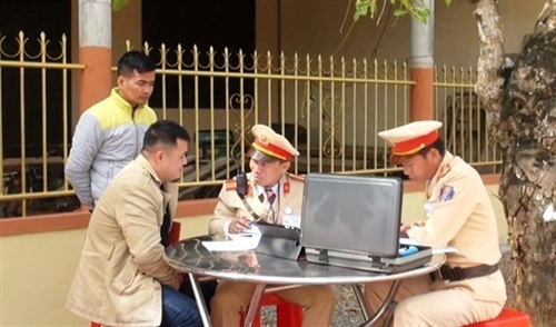 Traffic fines to be collected online from March 13