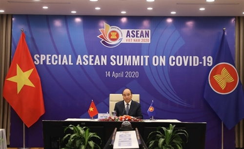 ASEAN leaders issue declaration on measures to fight COVID-19