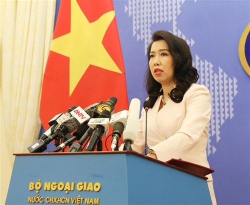 Vietnam opposes Chinas illegal activities in East Sea