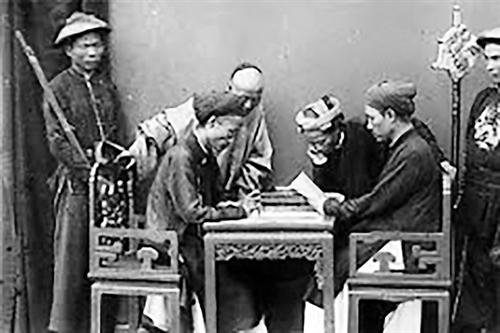 Legislative process under the Nguyen dynasty